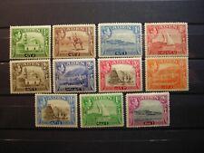 ADEN 1938/48 GVI  DEFINITIVES TO 2R FINE MINT SG16/25