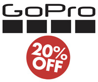 GoPro Coupon Code - 20% - Online US Only - Fast message delivery