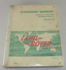 Werkstatthandbuch Land Rover Serie II + IIA (88+109) Stand 12/1963