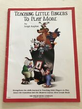 Teaching Little Fingers To Play More Piano Book Kaplan 11995E