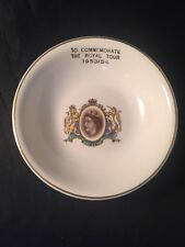 To Commemorate The Royal Tour 1953 54 Queen Elizabeth Royal Harvey Staffordshire