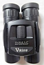 Viking Compact LE 10x25 Compact Binocular New Stock Case Strap Box Instructions