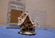 Boyds Kringle's Village Hoofer Hall Reindeer Dormitory Ornament