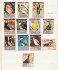 Vögel (207) nur aus Guinea Interessant