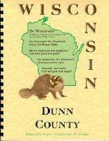 WI Dunn County Wisconsin history/biography Menomonie Knapp Rusk Eau Galle RP
