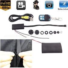 Mini 1080P HD Spy Hidden Camera Button Module VideoRecorder Motion Detectio  Cam