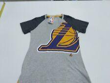 "Los Angeles Lakers Women's S Majestic NBA ""Stylin"" V-neck Short Sleeve Tee BNWT"