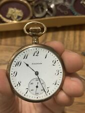 Gold Pocket Watch 15 Jewels Works! Antique Illinois Watch Co. Springfield Solid