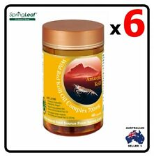 6x Homart Springleaf Wild Red Krill Oil Complex 60 capsules