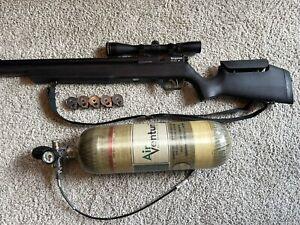 Benjamin Marauder .25 Leupold scope Air Venturi air tank! Compete package!