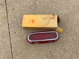1961 Pontiac Bubbletop Catalina Ventura Taillight Brake Lens Chrome Trim