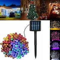 17/22M 72ft 200 LED Solar Power String Lights Garden Christmas Fairy Xmas Decor