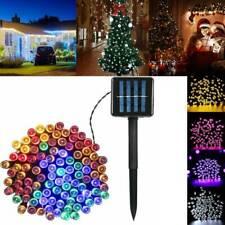 17/22M 72ft 200 LED Luces de Cadena de Energía Solar Jardín Navidad Fantasía Decoración de Navidad
