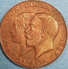 1927 Confederation Medal   ID #62-9