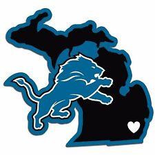 NFL Detroit Lions Home State Auto Car Window Vinyl Decal Sticker
