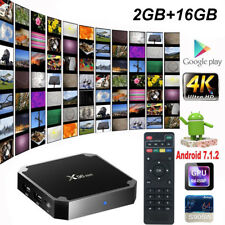 X96 MINI Android 7.1 Smart TV Box S905W 4K Quad Core H.265 HD Medien 2GB+16GB DE