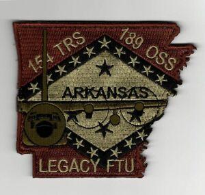 "USAF Patch 154th TRAINING SQDN, C-130H LEGACY FTU in OCP colors, 3.75"" X 4.5"""