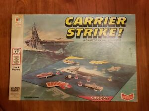 1977 CARRIER STRIKE! A Game of Naval Strategy by Milton Bradley ~ 100% Complete!