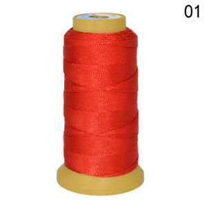 Polyester Rope Beading Sewing Cord Thread For DIY Costumes Jewelry Making 1000m