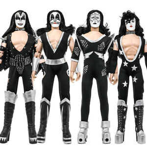 KISS 12 Inch Action Figures Alive Re-Issue Series: Set of all 4 [Loose]