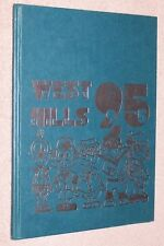 1995 West Hills Middle School Yearbook Annual West Bloomfield Michigan MI