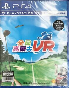 PS4 PSVR Everybody's Golf VR 全民高尔夫VR HK Chinese/English PCAS05102 VR Required