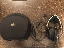 Two Bose Model X aviation headsets
