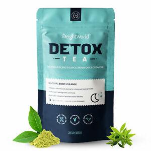 Detox Tee - 28 Tage Kur zur Entgiftung & Darmreinigung - Diät Tee zum Abnehmen
