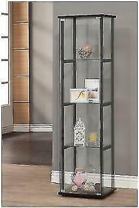 Coaster Home Furnishings 950171II Curio Cabinet Black-950171 NEW