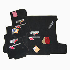 2013 Chevrolet Corvette C6 60th Grand Sport Floor Mats Set - 32-OZ 2-PLY - USA