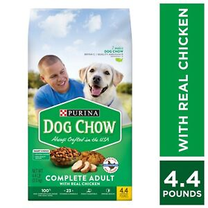 Purina Dog Chow Complete Adult With Real Chicken 4.4 lbs