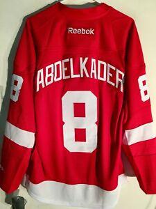 Reebok Premier NHL Jersey Detroit Redwings Justin Abdelkader Red sz L