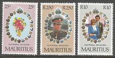 Elizabeth II (1952-Now) Mint Hinged Single Mauritian Stamps