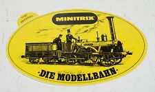 MINITRIX - Die Modellbahn - ADLER ZUG  - Aufkleber aus den 80er Jahren