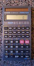 Casio Fx-260 Solar Fraction Calculator And Case