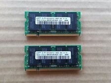 8GB 2x4GB PC6400S DDR2-800 PC2-6400 200PIN SODIMM Laptop Memory M470T5267AZ3-CF7