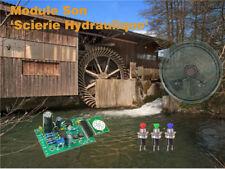 Module Son: 'Scierie hydraulique'.