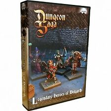 Dungeon Saga Expansion Legendary Heroes of Dolgarth - Mantic Games