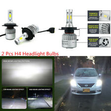 2 Pcs Car Bright White LED H4 9003 HB2 160W Headlight Driving Fog Light Bulbs