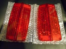 1966 FORD FAIRLANE EARLY PRODUCTION TAILLIGHT LENS SET NO BACKUPS