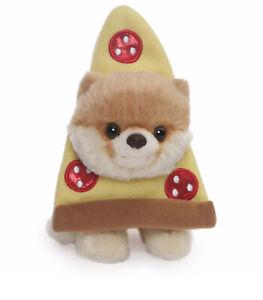 "Gund Itty Bitty Boo Pizza Stuffed Dog Plush, #57, 5"""