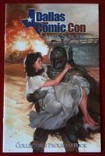 Dallas Comic Con Program - Star Wars Boba Fett Cover Art By Dave Dorman - Rare