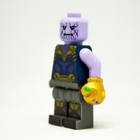 Custom LEGO Avengers Infinity War/Endgame Minifigure Thanos