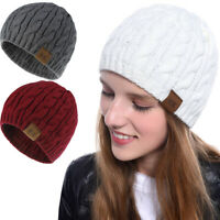 Ladies Beanie Warm Autumn Wool Knitted Hats Stretch Caps Men's knitted Hat