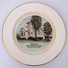 White Creek United Methodist Church Bartholomew County Indiana Plate 1976