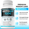 Keto XP 1200 Fat Burner Weight Loss Diet Pills Supplement for Men and Women 60ct