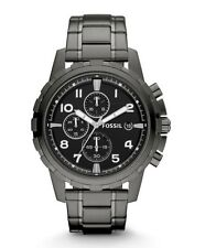 Fossil Watch * FS4721 Dean Chrono Black Dial Smoke Stainless Steel COD PayPal