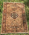 "Antique 20th Century Handmade Oriental Persian Bidjar Rug 48"" x 65"""
