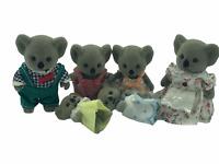 Calico Critters Sylvanian Families Vintage Billabong Rare HTF KOALA BEARS