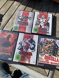 Das Godzilla DVD Paket Mit 5 Titeln